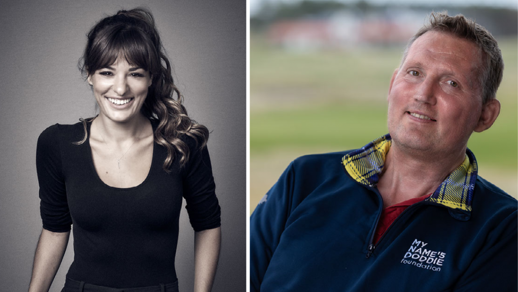 Nicola Benedetti and Doddie Weir: The former sportsman revealed in 2017 that he has the illness.