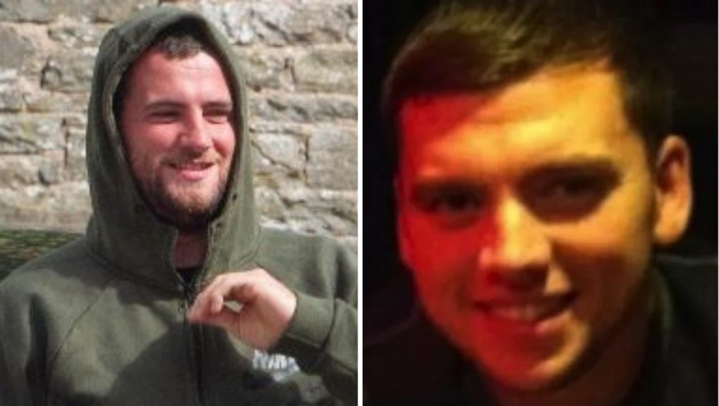 Steven Dickie took his own life at HMP Perth in November 2019 while serving a life sentence for killing oil industry worker Steven Donaldson (right).
