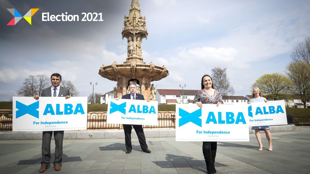 Key pledges set out in the Alba Party manifesto.