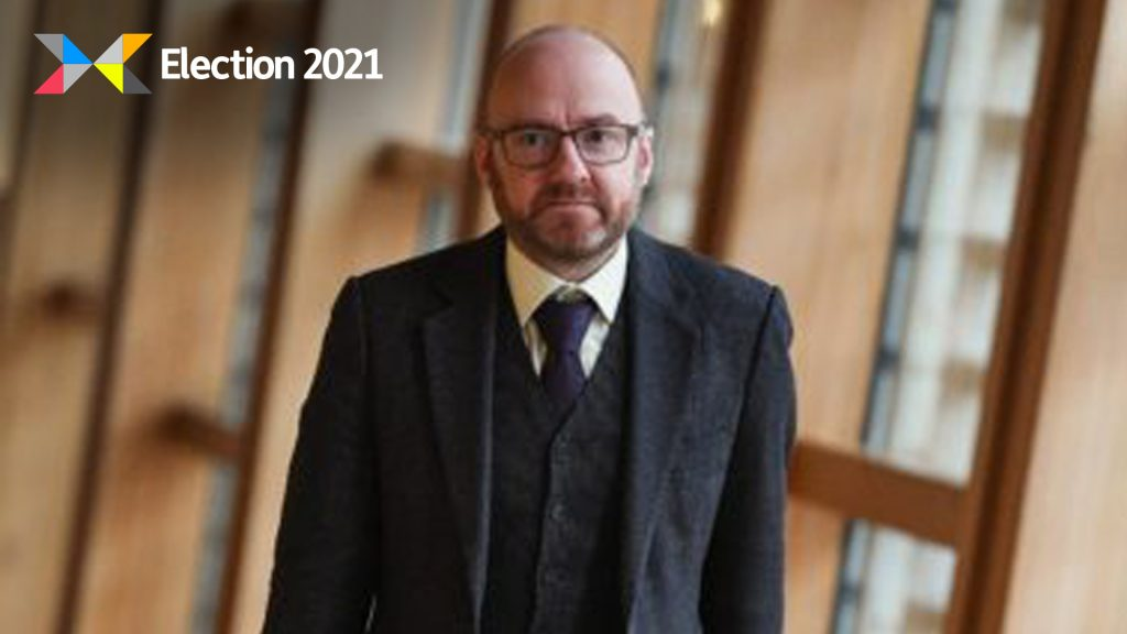 Green Party co-leader Patrick Harvie.