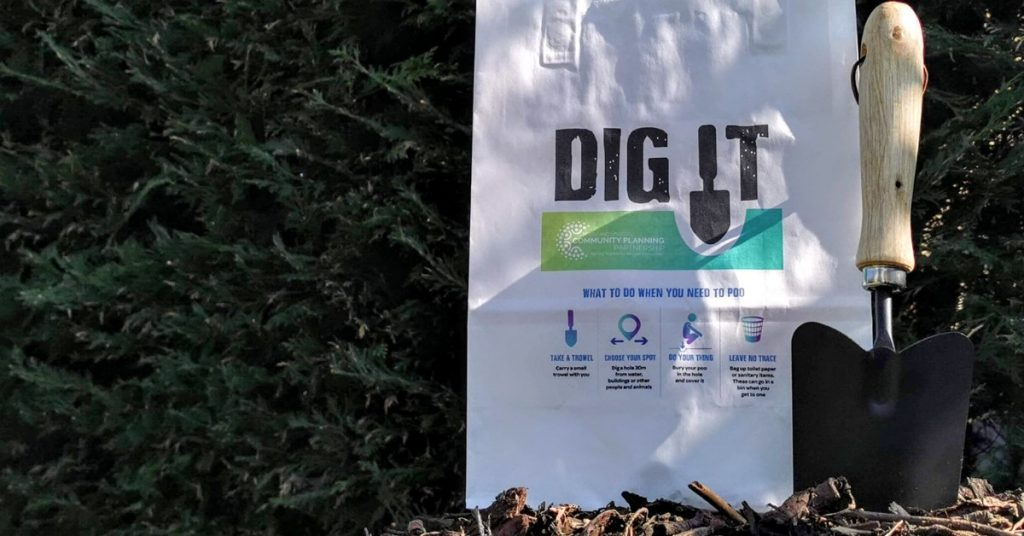 Visitors to Loch Tummel and Loch Rannoch will be issued with 'Dig It Kits'.