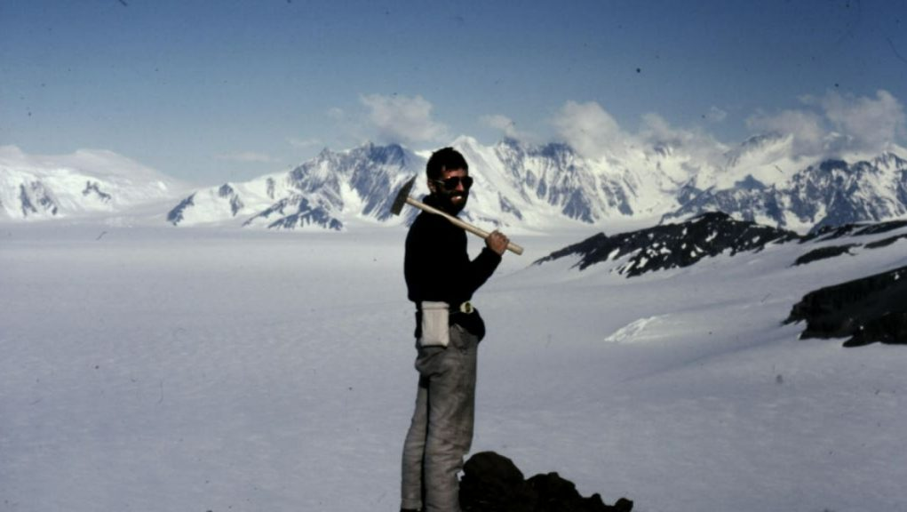 Malcolm Hole: Geologist in the Antarctic in the 1980s.