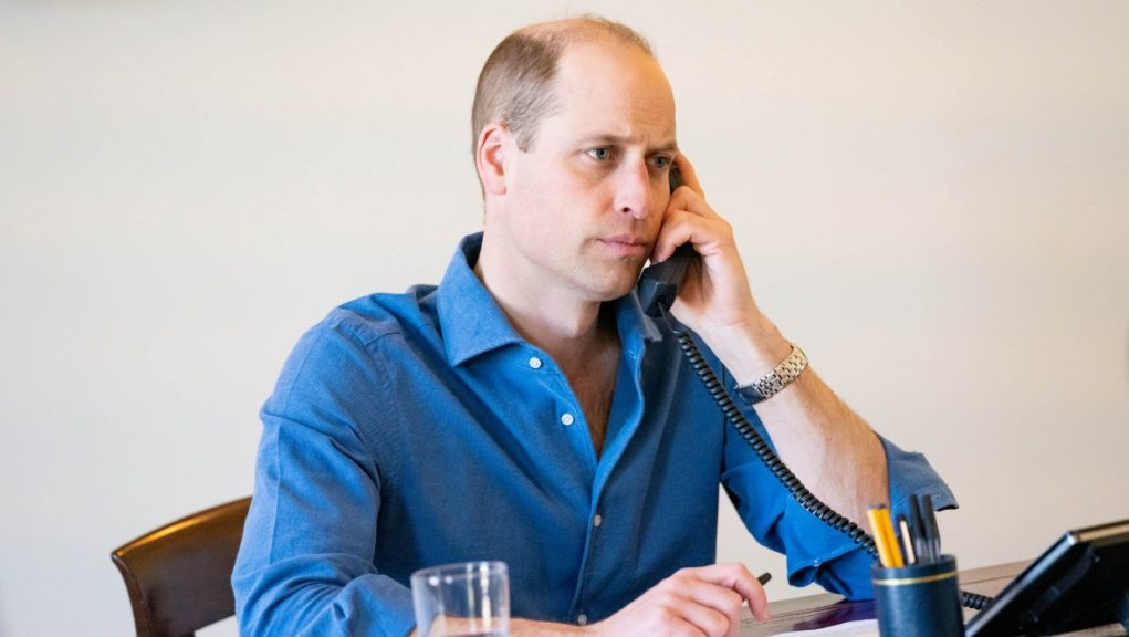 Call: Prince William spoke to nurse who formed bubble with dying girl's family.