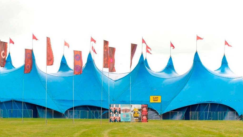 Slam Tent: iconic T in the Park venue to host new festival.