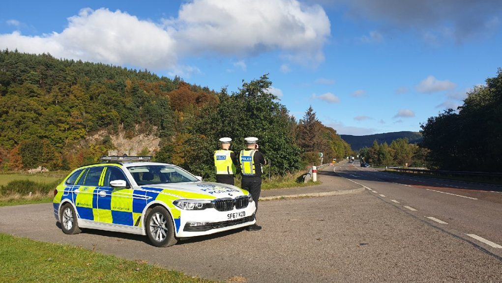 Police says 55 speeding offences were detected during patrols on northeast roads this weekend.