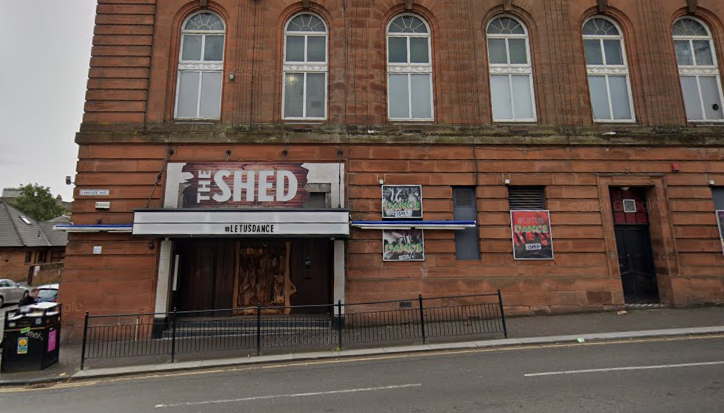 The Shed: Attacks took place in Glasgow nightclub.