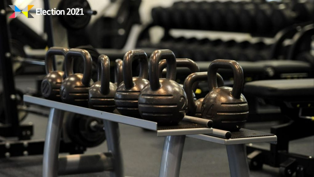 Gym: The Royal College of Physicians of Edinburgh say young people from deprived areas have been hit hard by Covid.
