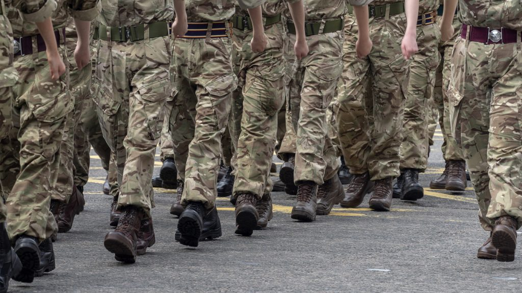 Army: 16 and 17-year-olds can join as juniors.