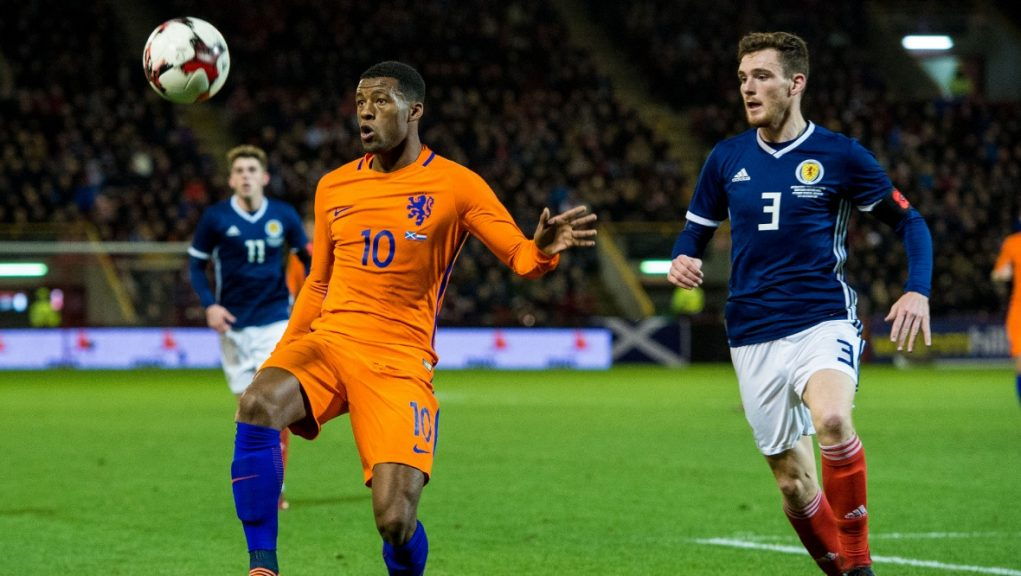 Scotland last played Holland in a friendly at Pittodrie in 2017.