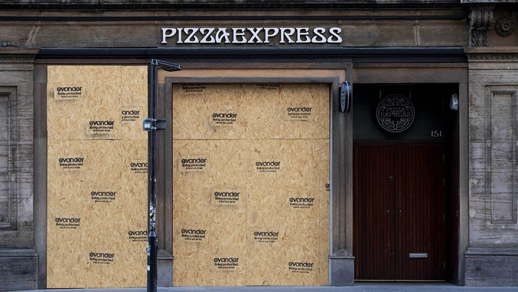 Pizza Express has cut thousands of jobs as restaurants were closed during the pandemic.