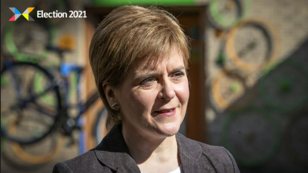Sturgeon: First Minister dismissed critics.