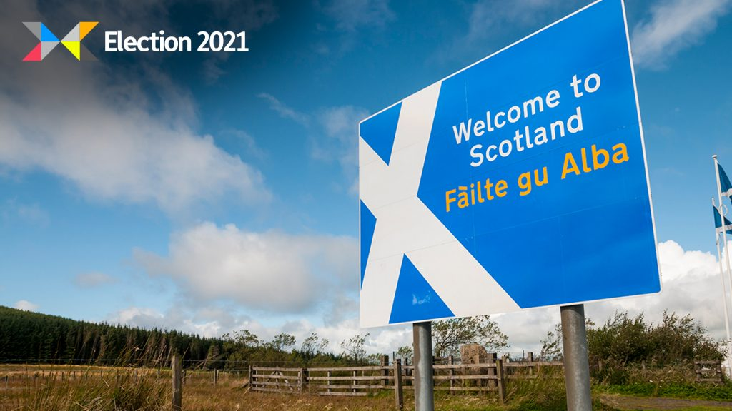 SNP candidate suggested erecting 'the softest of borders' with England could create jobs.