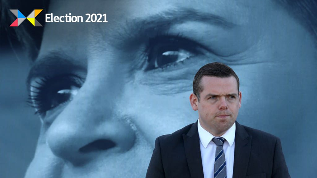 Scottish Conservative leader Douglas Ross hit out at Nicola Sturgeon's 'record of failure'.