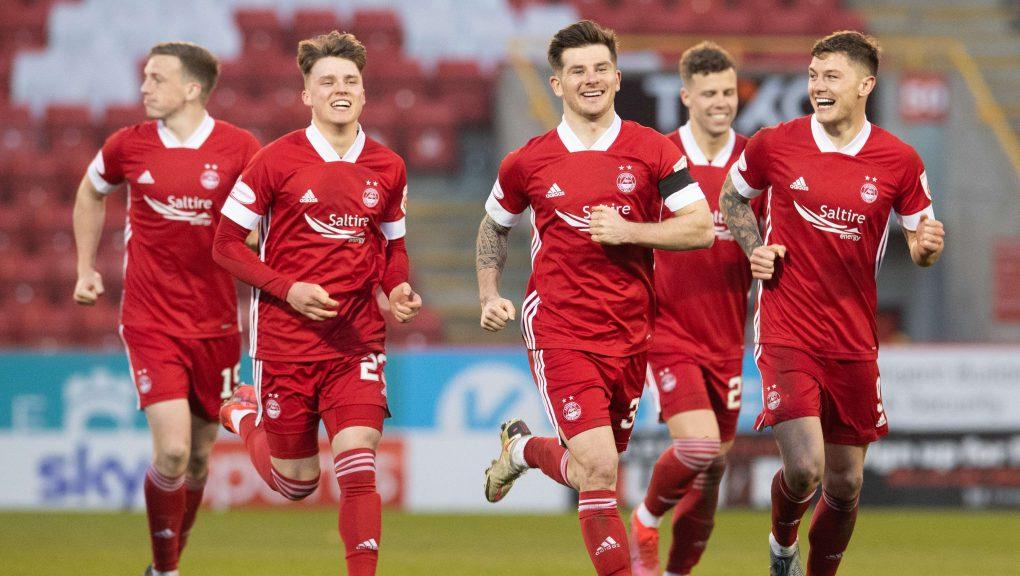 Aberdeen kept their nerve through the penalty shoot-out.