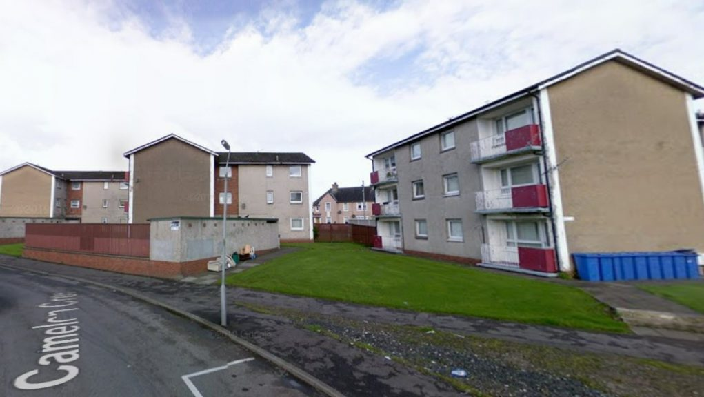 Blantyre: Police were called to Camelon Crescent on Wednesday afternoon.
