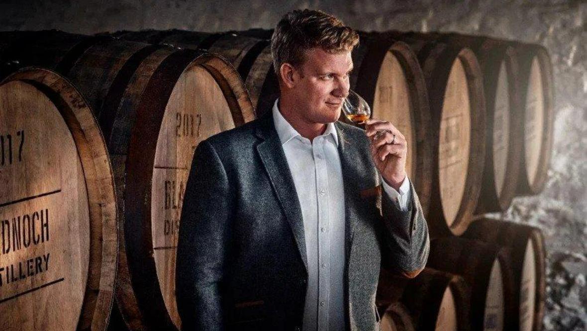 Bladnoch's master distiller, Dr Nick Savage.