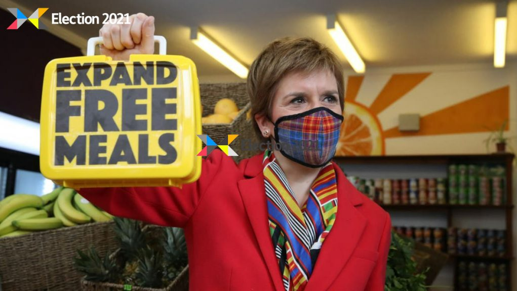 Glasgow: Nicola Sturgeon highlighted the plans while campaigning on Thursday.