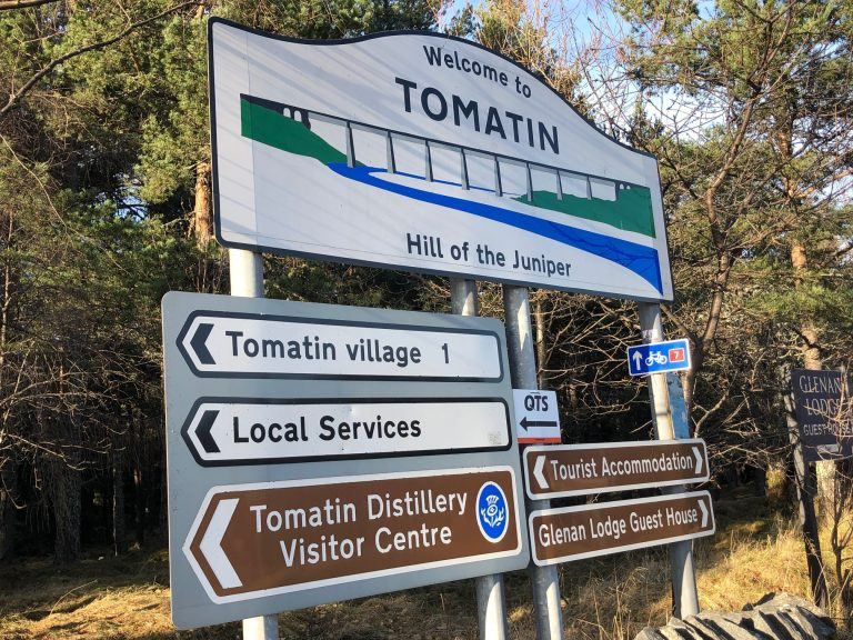 Tomatin Distillery said it wanted to protect its brand.
