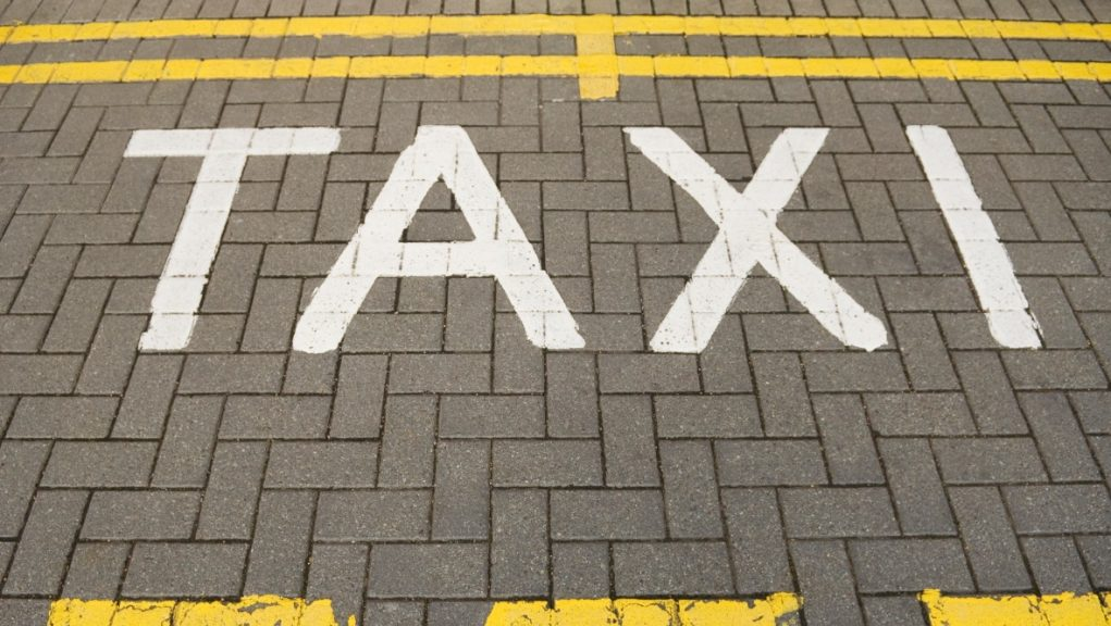 Taxi: Private hire driver Iftikhar Sharif was locked up for 340 days in January.