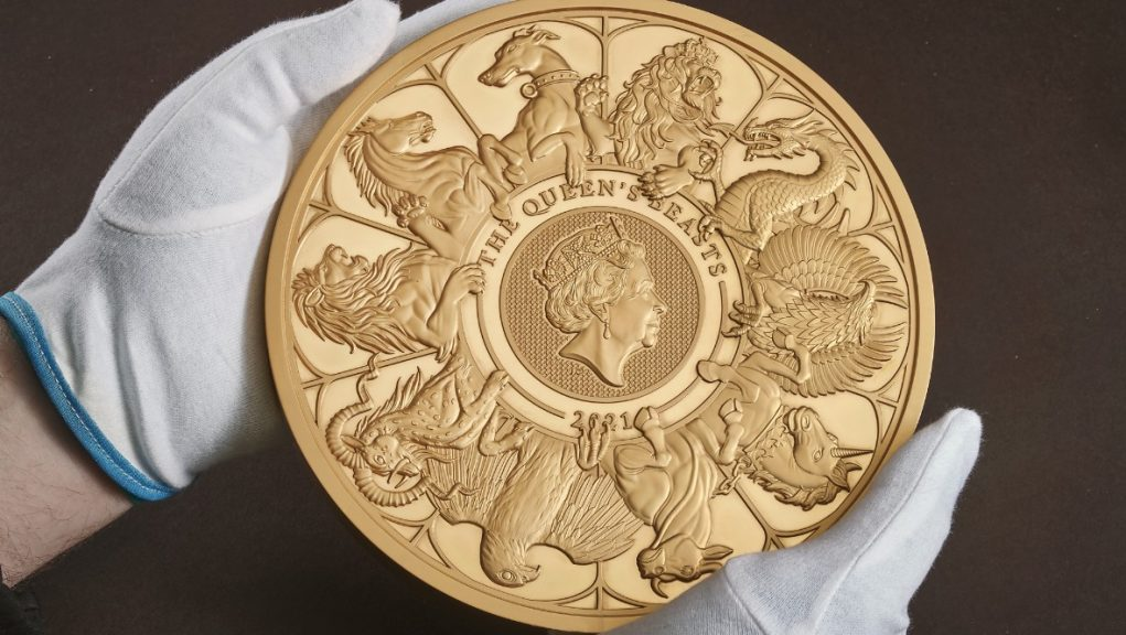 Royal Mint: The coin marks the conclusion of the Queen's Beasts commemorative coin collection.