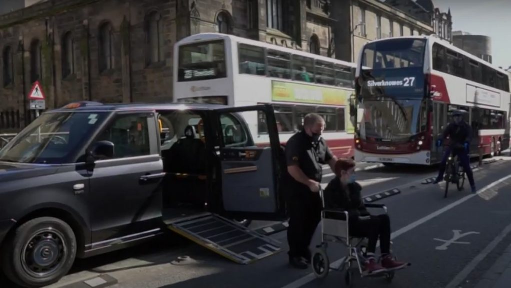 City Cabs produced an anti-Spaces for People video.