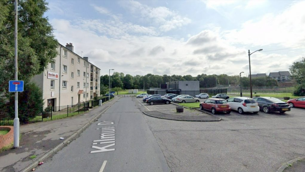 Glasgow: Emergency services were called to Kilmuir Drive on Saturday morning.