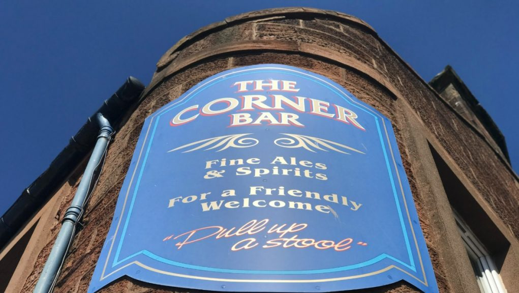 Arbroath: The Corner Bar's licence had been paid in full.