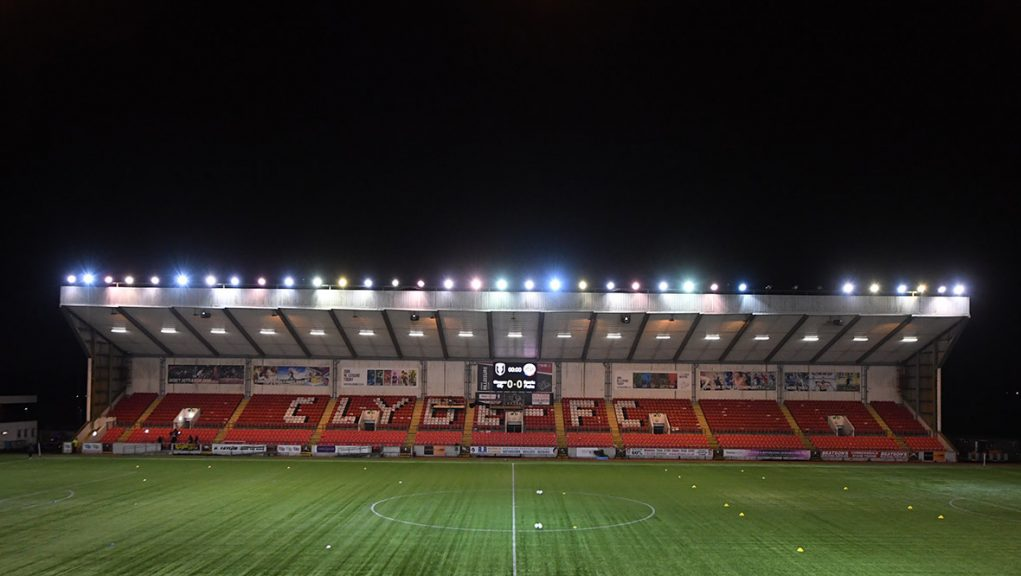 Clyde v East Fife was due to kick-off at Broadwood at 7pm.