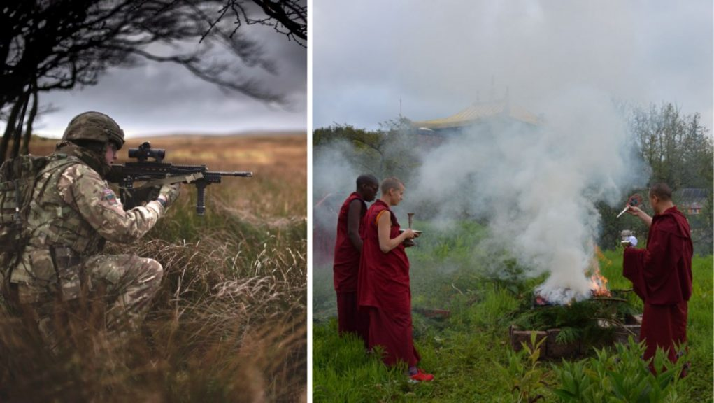 The proposed Clerkhill development is 2000 metres from Kagyu Samye Ling Monastery.