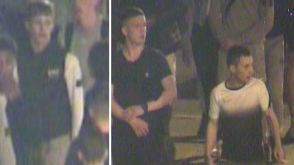 Police have shared CCTV images of three men they believe might have information that could assist in their enquiries.