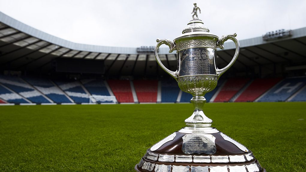 No fans will be inside Hampden for the Scottish Cup final.