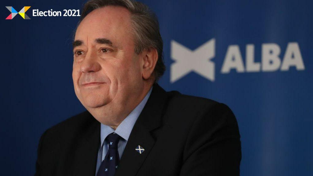 Alba Party: Leader Alex Salmond.
