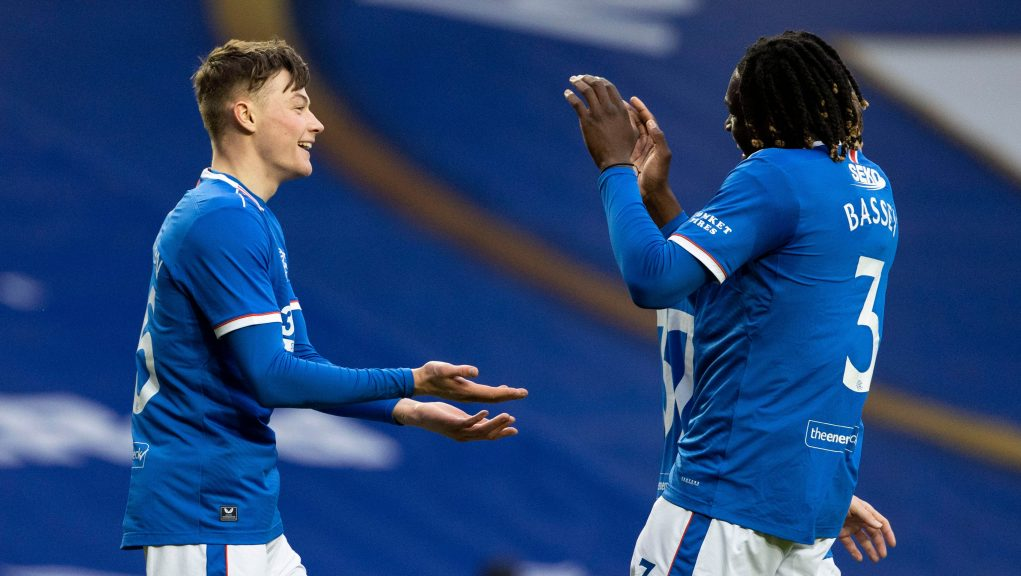 Patterson was on the scoresheet as Rangers beat Cove Rangers 4-0.