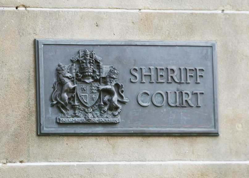 Less serious criminal cases are to fully resume in Scotland's courts from April 19.