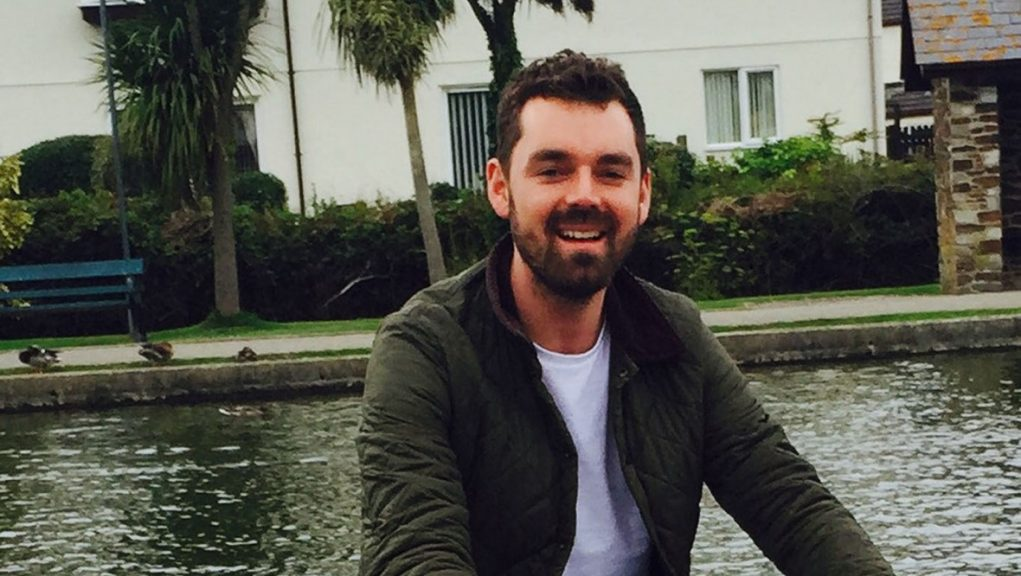 Simon Midgley, 32, died after a fire broke out at Cameron House Hotel on Loch Lomond.
