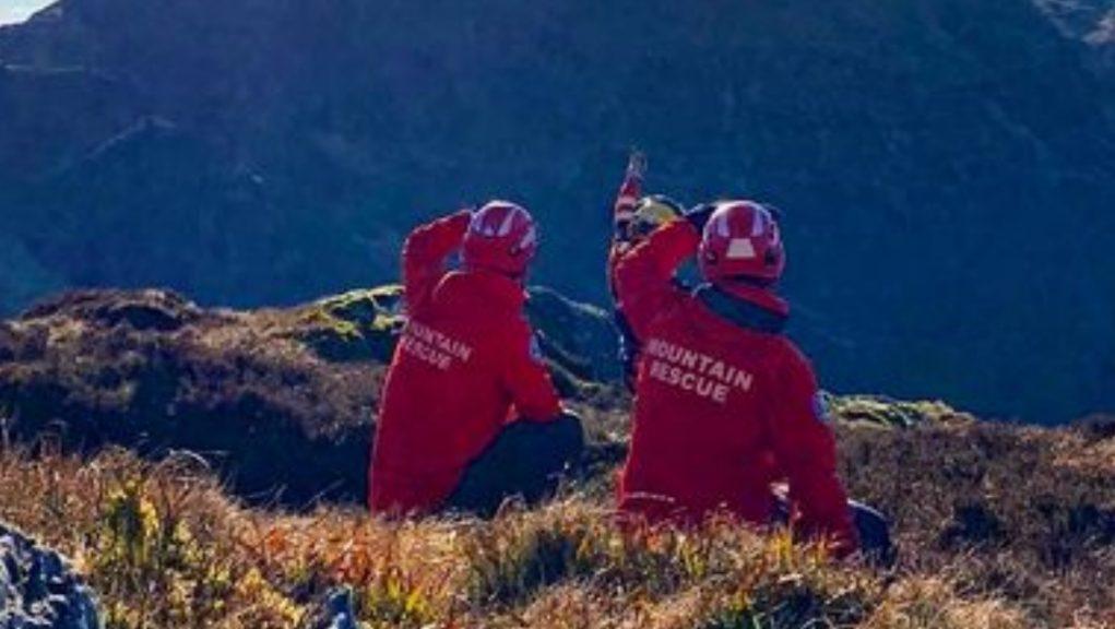 Lomond Mountain Rescue Team, Killin Mountain Rescue Team, Police Scotland and the Coastguard searched the Trossachs for the man.