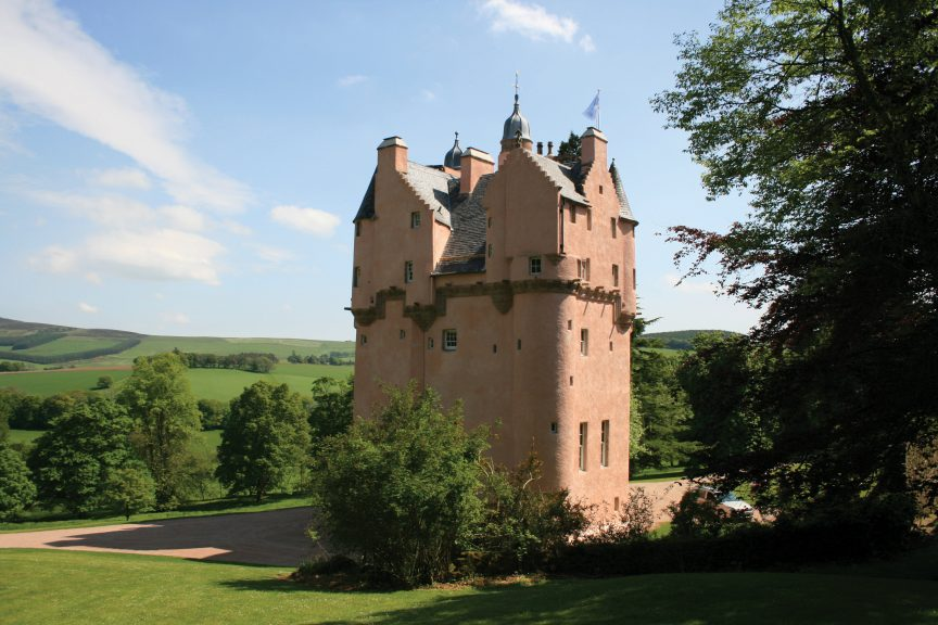 Craigievar Castle is said to have been the inspiration for Walt Disney's Cinderella Castle.