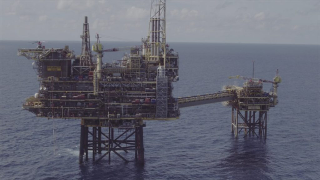 Oil Rig: More than 60 people flown ashore.