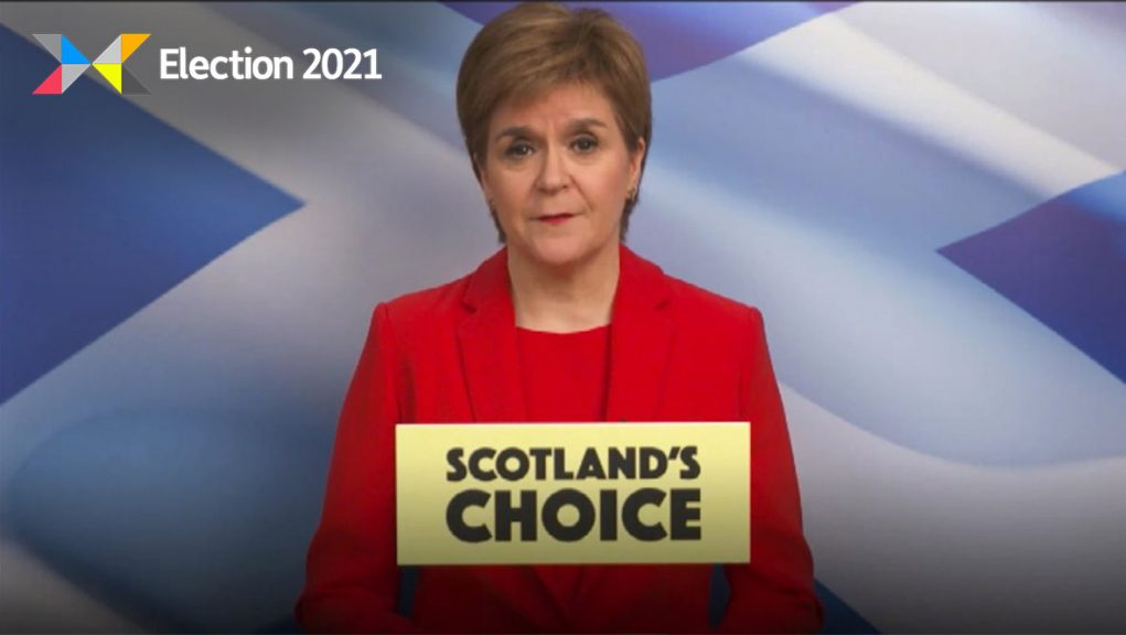 SNP: Nicola Sturgeon says independence referendum should be held in lifetime of next parliament.