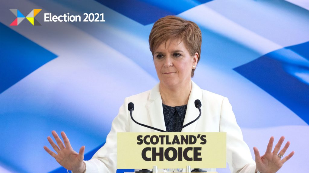 SNP leader Nicola Sturgeon believes UK Government discussions on independence have moved on.