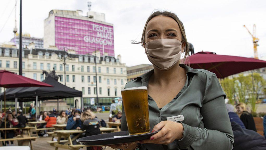 Coronavirus cases are rising in Glasgow.