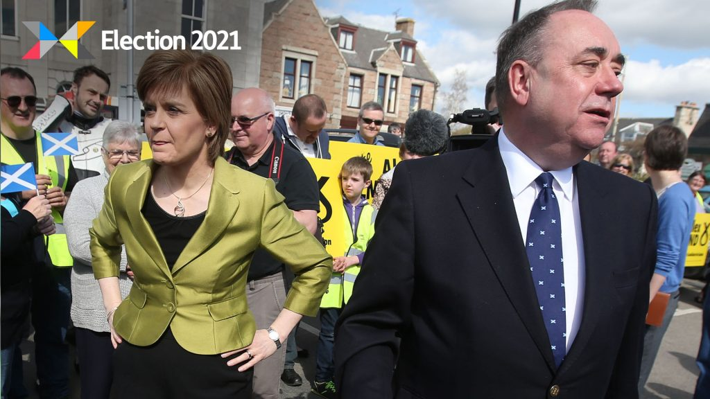 The two party leaders spoke out as the Holyrood election campaign entered the final days.