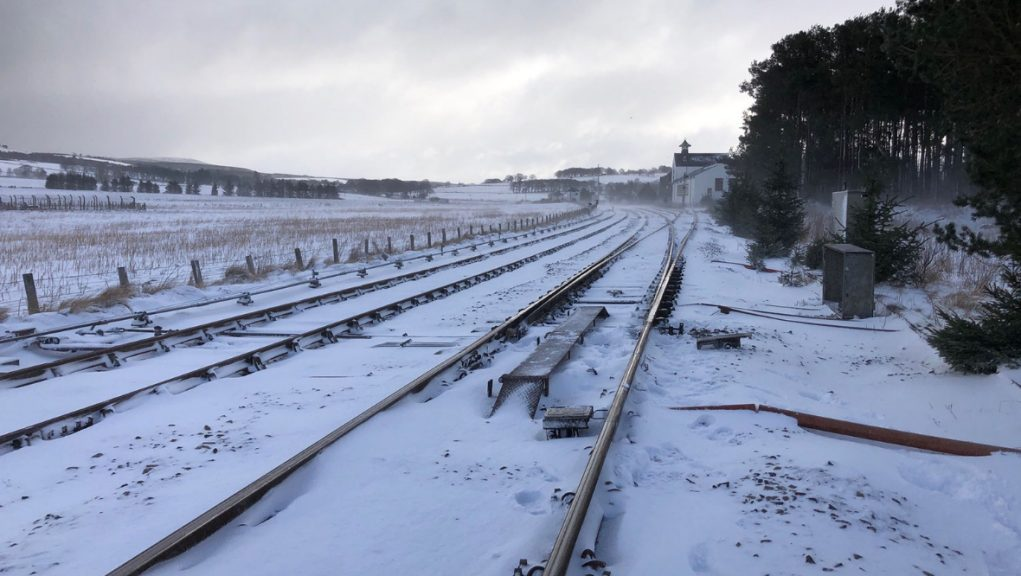 Snow warnings are in place for northern Scotland, with as much as 15cm falling in higher areas.