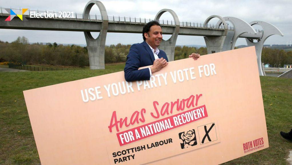 Scottish Labour: Party leader Anas Sarwar.