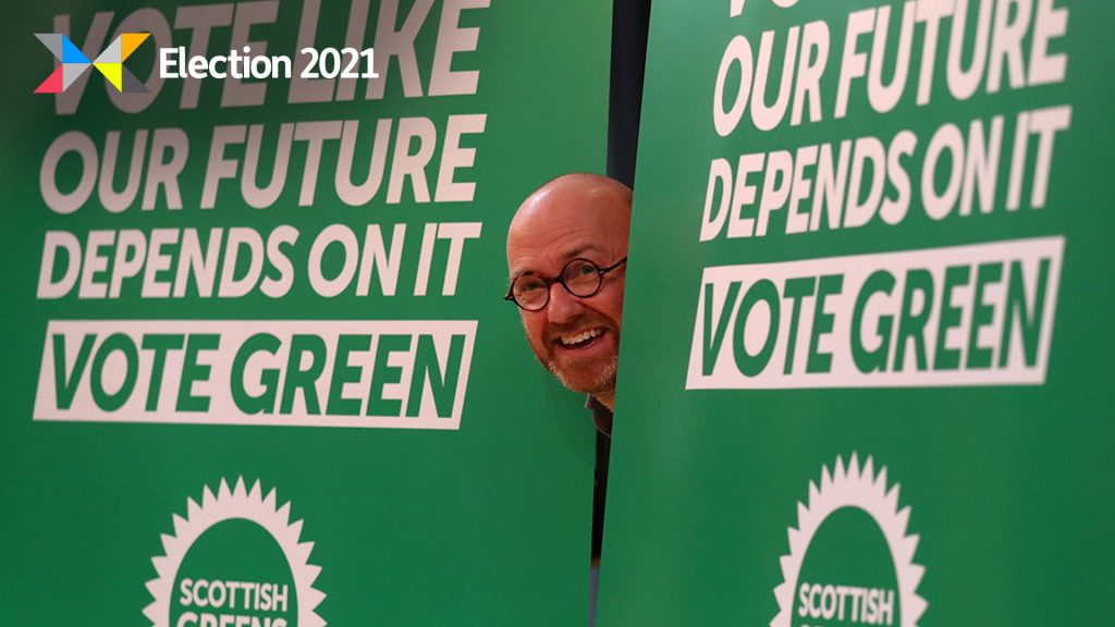 Patrick Harvie said the Alba Party is no threat to Green votes.