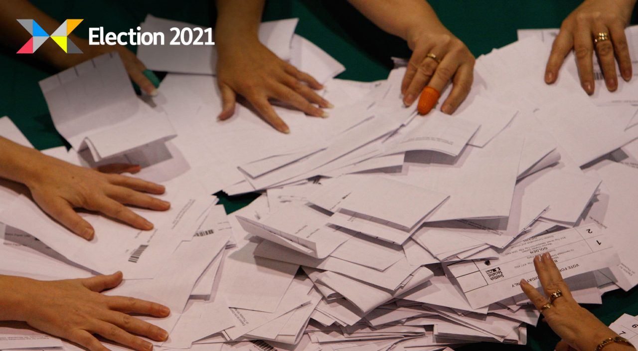 Votes being counted in Glenrothes