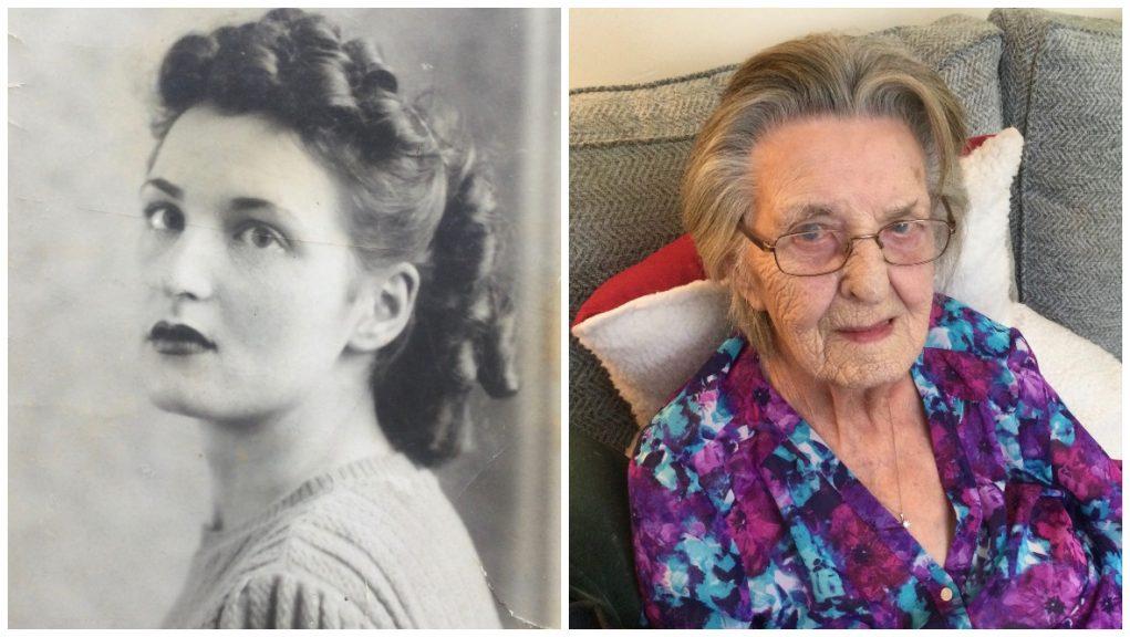 Cake and good humour: Eleanor Petrie reveals the secret to her longevity.