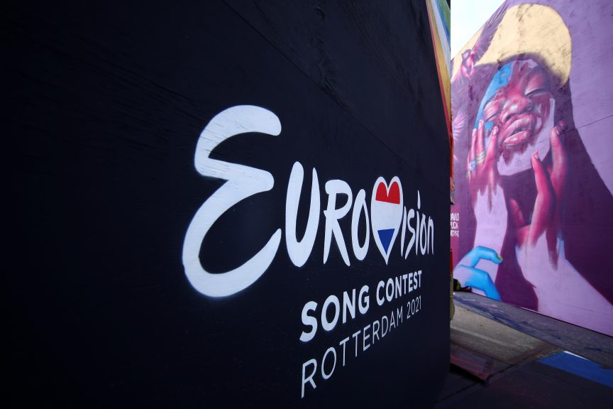 Eurovision Song Contest final to take place in Rotterdam on Saturday.