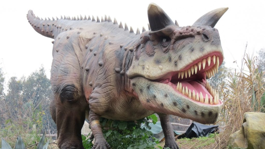 Jurassic Encounter: Dinosaurs will roam on the banks of the River Clyde this autumn.