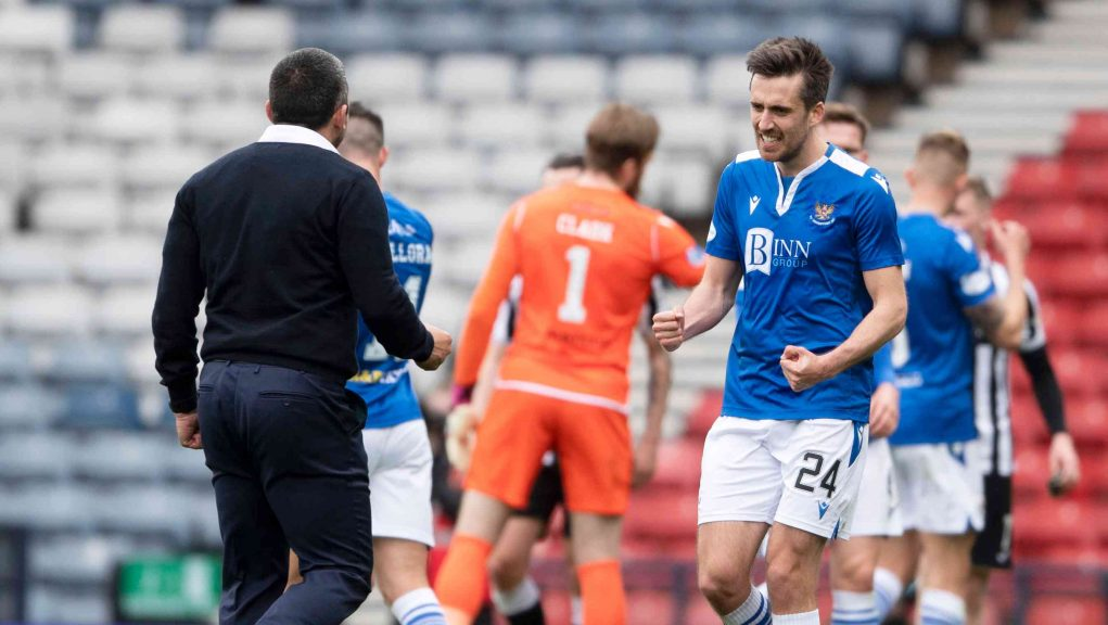 Booth is aiming to add a Scottish Cup medal to his League Cup win.